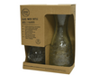 Recycled Glass Wine Carafe and Tumbler Set