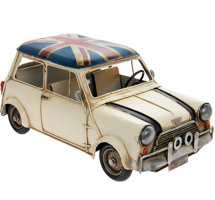 Union Jack Rally Mini Car