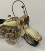 Metal Vintage Model Motorcycles - 29 x 16.5cm