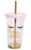 Eyelash Drinking Cup 2 Assorted 16cm