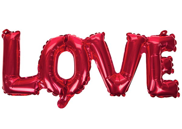 LOVE Text Balloon