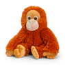 Plush Teddy Made From 100% Recycled Plastic - Orangutan