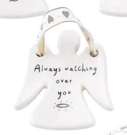 Sent & Meant Ceramic Angel Hangers - 9 Different Designs