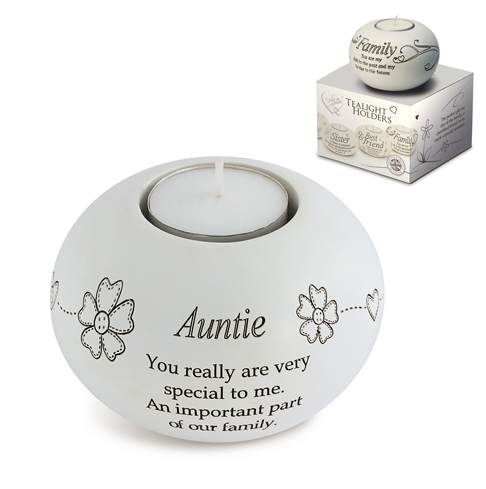 Said With Sentiment Auntie T Light Holder