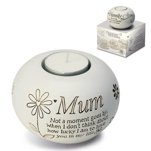 Said With Sentiment Mum T Light Holder