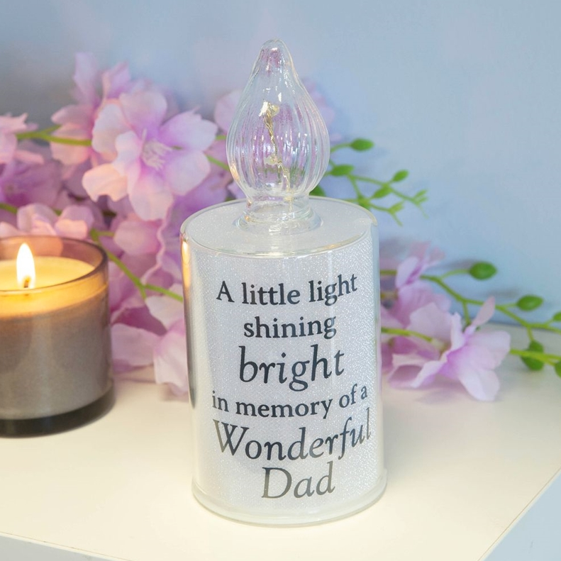Thoughts Of You Memory Candle Dad 18cm