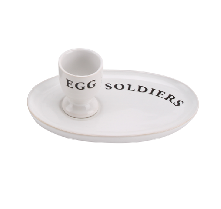 Country Kitchen 'Egg & Soldiers' Set - Culzean Gifts
