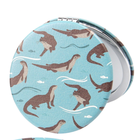 Wild Thoughts Otter Compact Mirror - Culzean Gifts