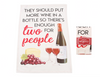 They Should Put More Wine In A Wine Tea Towel - Culzean Gifts