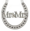 Silver Plated Mr & Mrs Horseshoe - Culzean Gifts