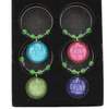Garden Party Wine Glass Charms - Culzean Gifts