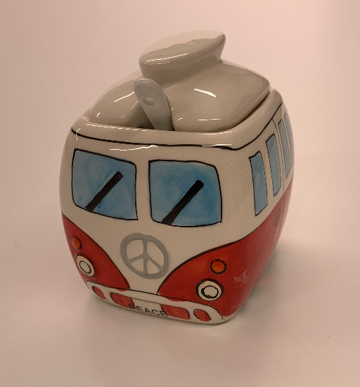 Camper Van Pot With Spoon - Culzean Gifts