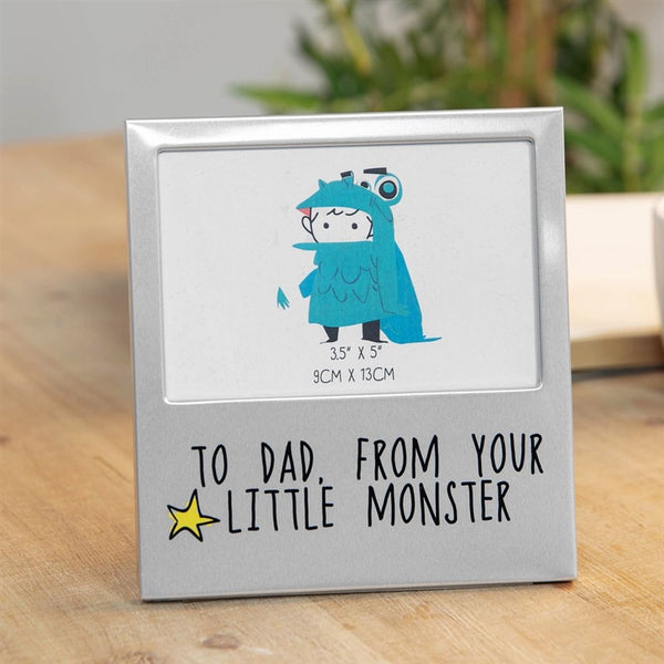 Aluminium Photo Frame - From Little Monster
