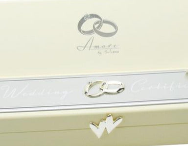 Amore Wedding Certificate Holder 24cm - Culzean Gifts