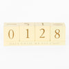 Wedding - Count Down Blocks - Culzean Gifts