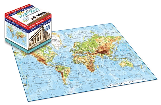 100 Piece Jigsaw Puzzle - World - Culzean Gifts