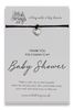 Wishstrings Baby Shower Bracelet