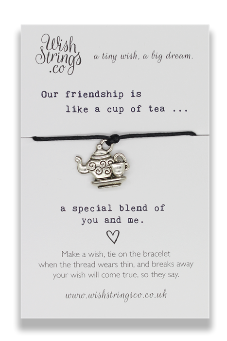 Wishstrings Friendship Tea Bracelet