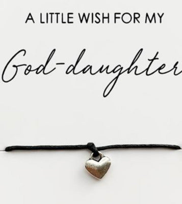 Wishstrings God Daughter Bracelet
