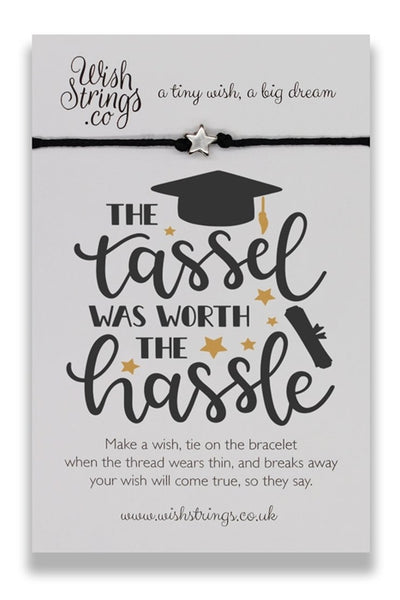 Wishstrings Tassel Hassle Graduation Bracelet