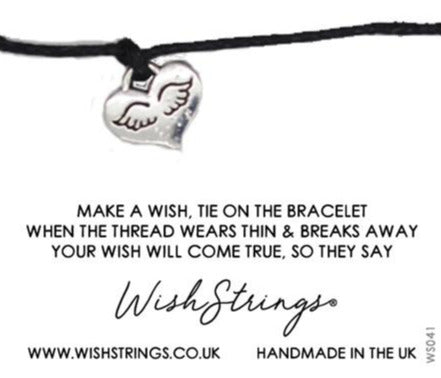 Wishstrings Angel Bracelet