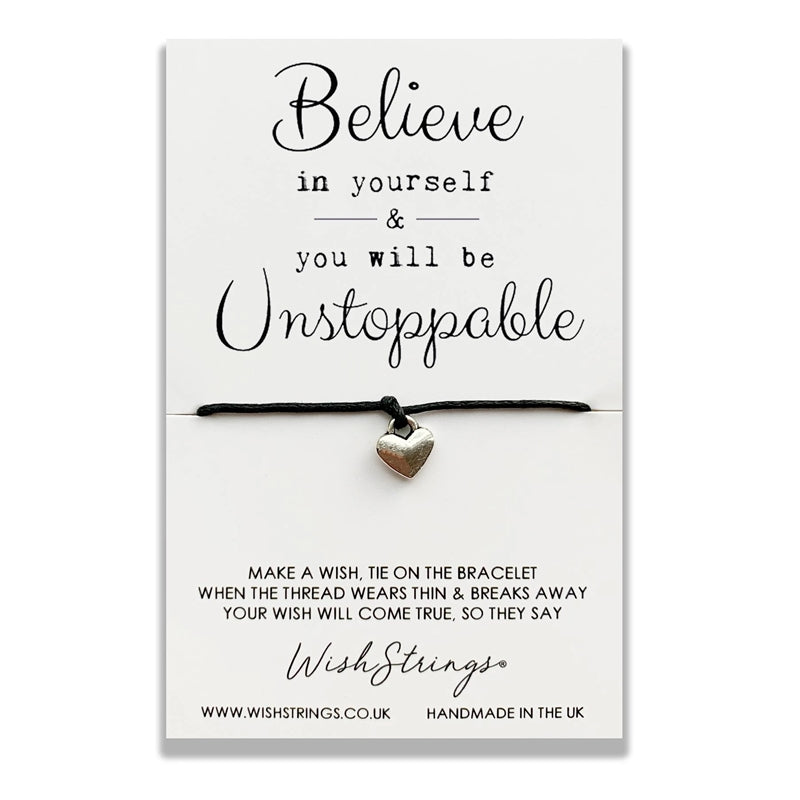 Wishstrings Believe In Yourself Bracelet