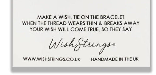 Wishstrings Bride Bracelet