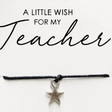 Wishstrings Teacher Bracelet