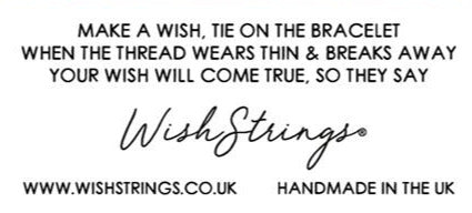 Wishstrings Smile Change The World Bracelet
