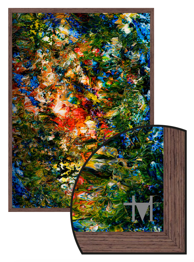 The Trevor M Hirst Collection - Paint 4167 - Framed Artwork Direct print to glass - Culzean Gifts