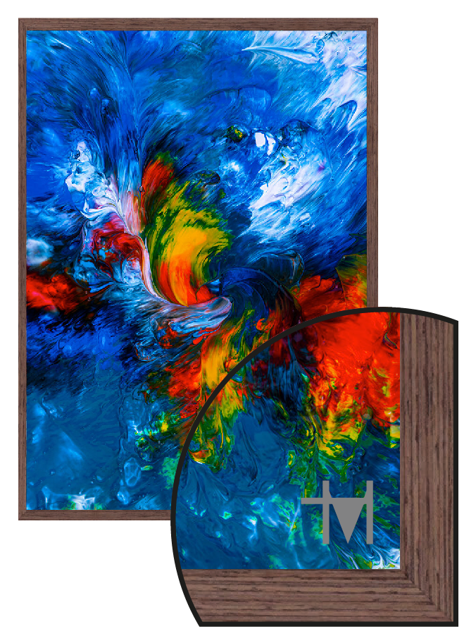 The Trevor M Hirst Collection - Paint 4186 - A4 Framed Artwork Direct print to glass - Culzean Gifts