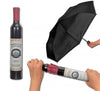 Umbrella In Wine Bottle
