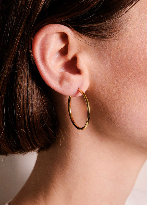 Magni Gold Hoops