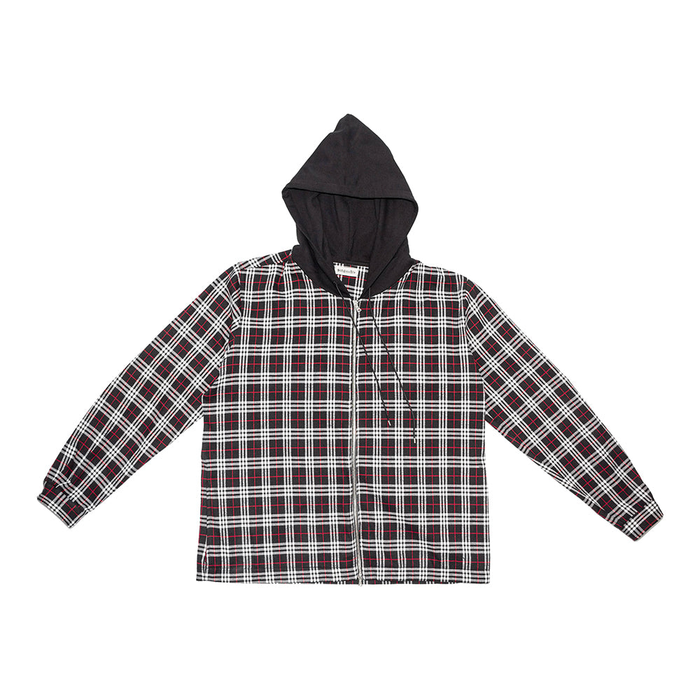 South Central Hills - Hooded zip flannel