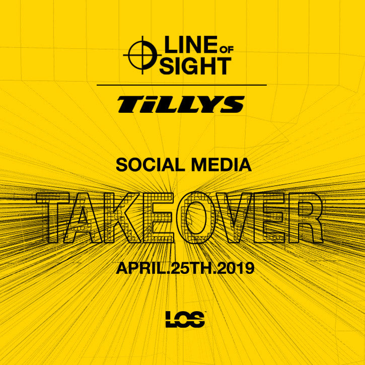 Line of Sight Co x Tillys social media takover