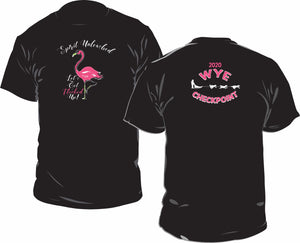 Flamingo Let's Get Flocked Up Shirt
