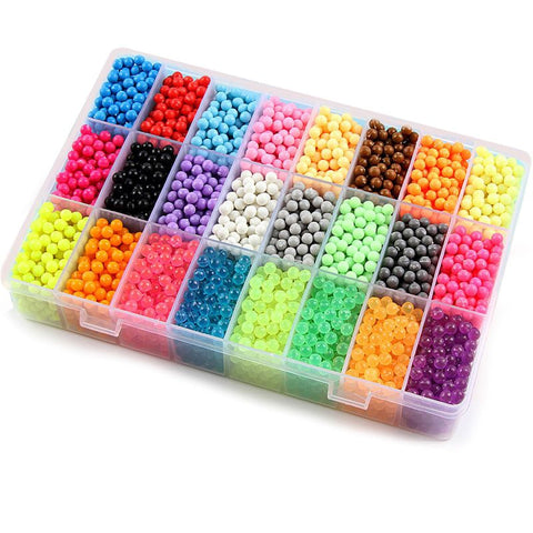 24 colors beads puzzle