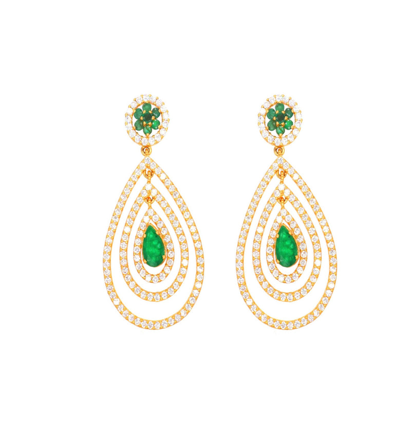 Pear-shaped Earrings