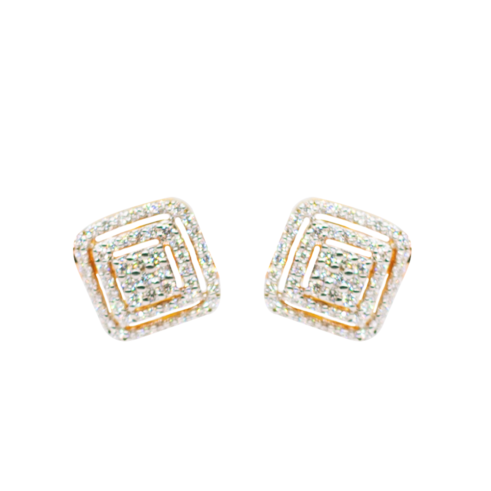 Stunning Diamond Earrings