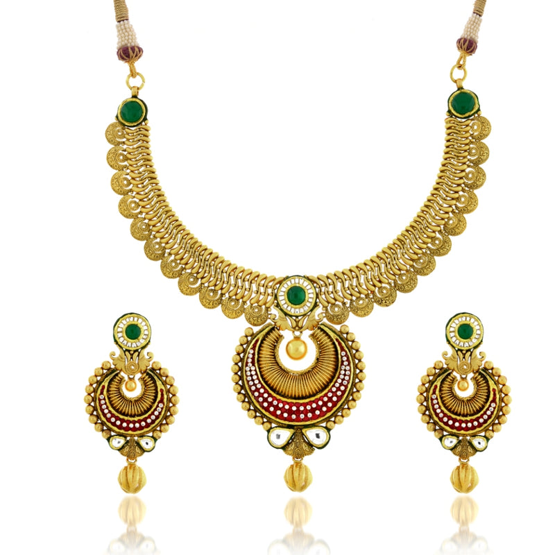 CHAND-BALI STYLE NECKLACE