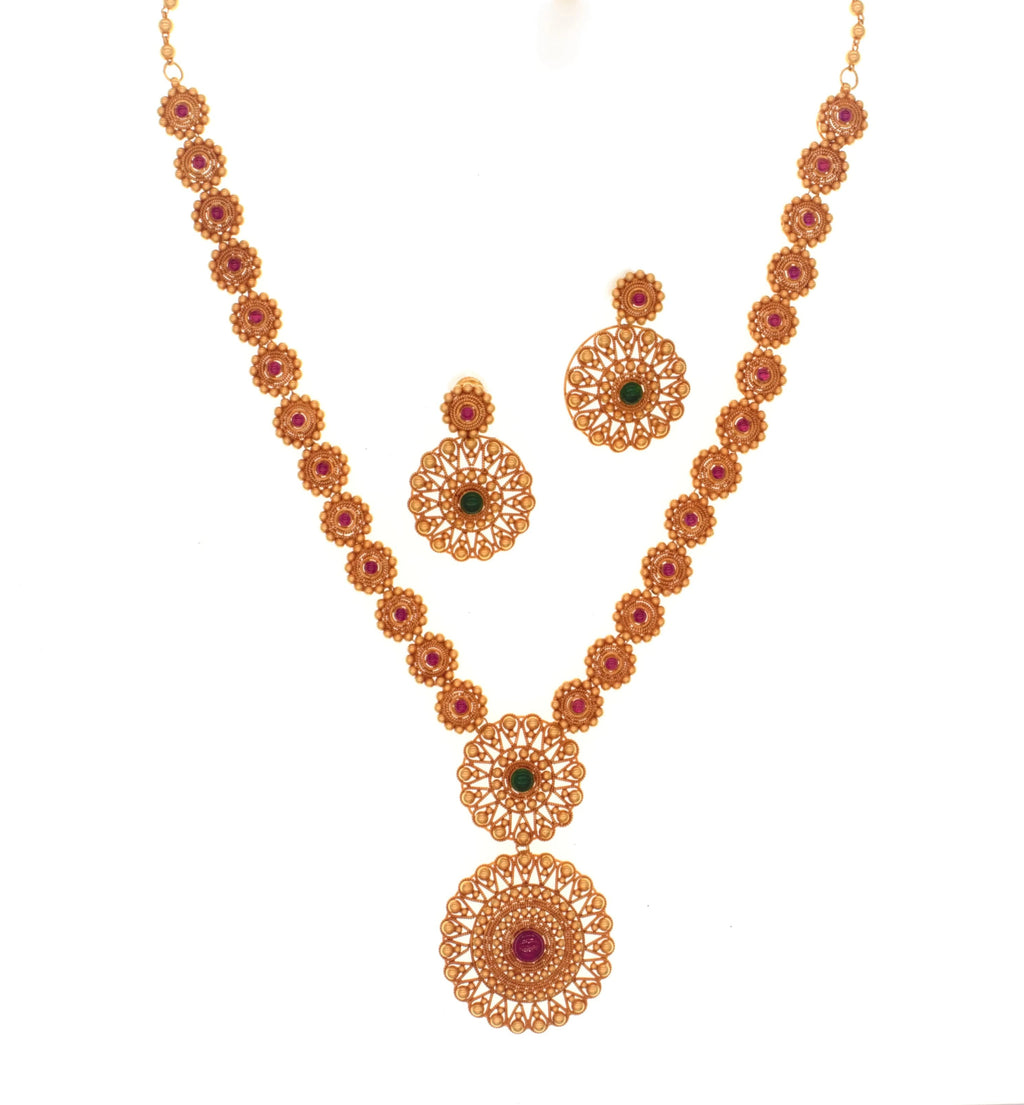 Rajasthani Gehru Necklace Set