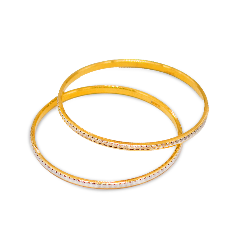 Rhodium Kids Bangles