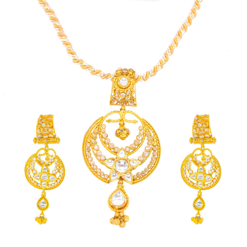 Royal Circle Pendant Set