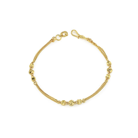Two-tone ladies bracelet