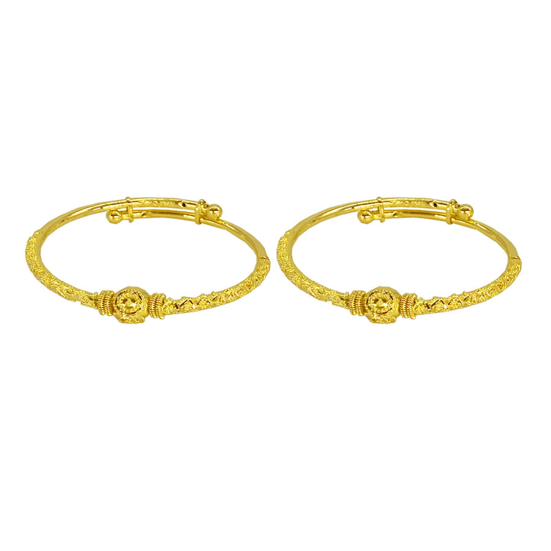 Kids Adjustable One Round Bangles