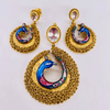 Traditional Gold Pendant Set