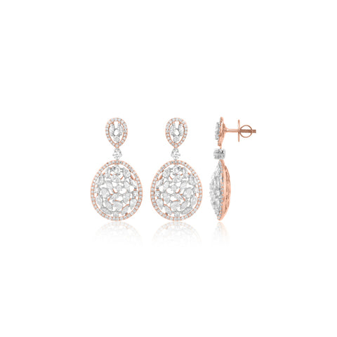 Flower Motif Earrings