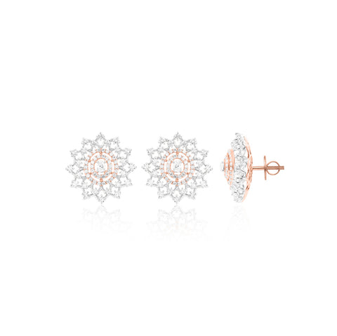 MARQUISE DIAMOND STUDS