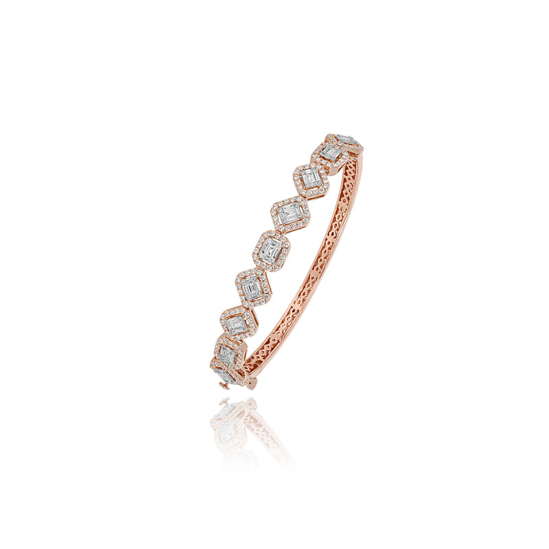 Classic Pink Gold Braclet