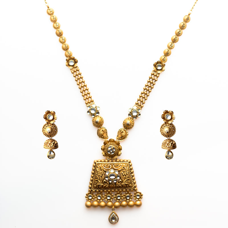Rajwara Haar Necklace Set